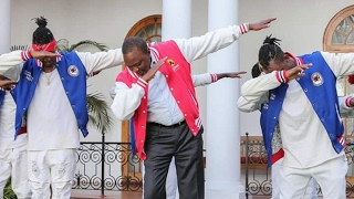 Video: President Uhuru Dances Like Never Before. Don't We Have The Coolest President??