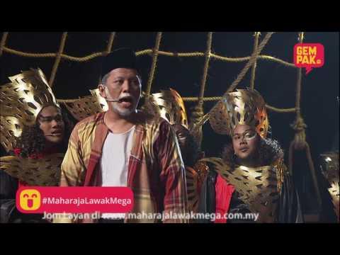 Maharaja Lawak Mega 2017 | Shiro - Minggu 8