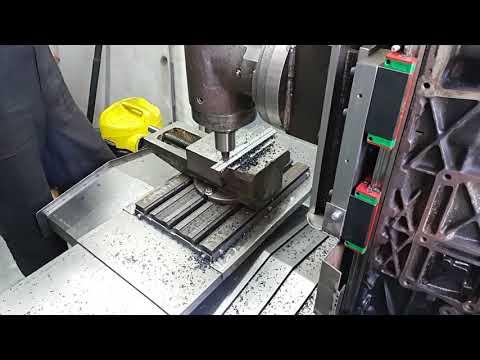 DIY cnc milling machine. Обработка стали.