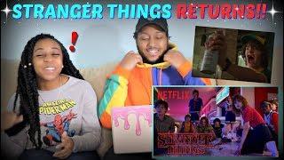 """Stranger Things 3"" Official Trailer REACTION!!!!"