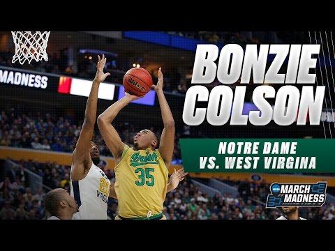 Notre Dame's Bonzie Colson scores game-high 27 points vs. WVU