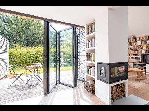 Aluminium Bi Folding Exterior Doors Designs Youtube
