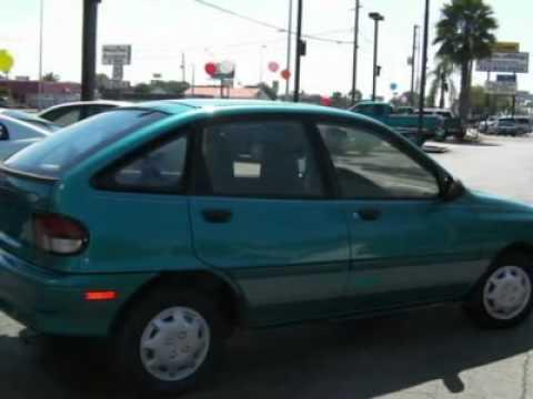 Julians Auto Showcase >> 1995 FORD ASPIRE New Port Richey, FL - YouTube