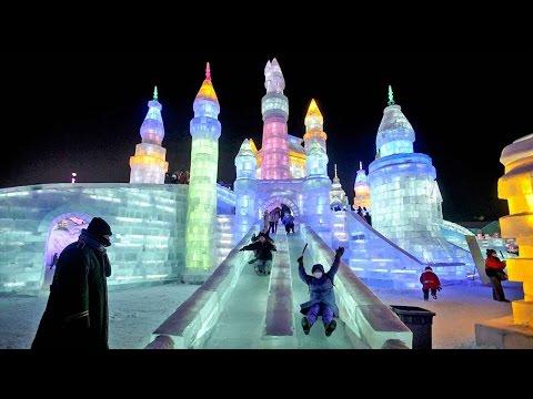 Winter wonderland: Frozen fun at Harbin Ice and Snow Festival