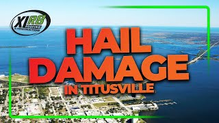 Titusville Roofing Services - Hail Damage with Phillip Smock | XLR8 Roofing