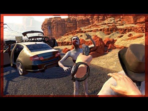 Best ZOMBIE VR Co-op Game Out?? Arizona Sunshine PC -Worth $43?? | SLAPTrain
