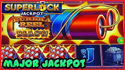 🧨SUPERLOCK Lock It Link Eureka Reel Blast MAJOR JACKPOT HANDPAY 🧨HIGH LIMIT $24 BONUS Slot Machine