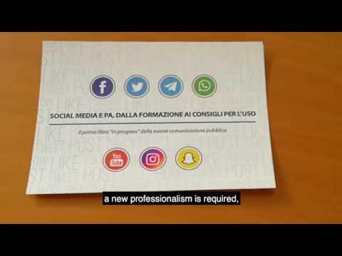 "Intervento di Sergio Talamo ""New public communication, social media, and transparency"""