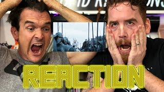 Game of Thrones Season 8 Official Trailer REACTION!!!!!