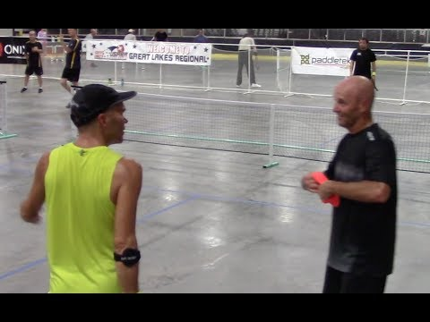 Fever in the Zoo Pickleball-5.0 19-34 1/16 Final. Del Kauss/
