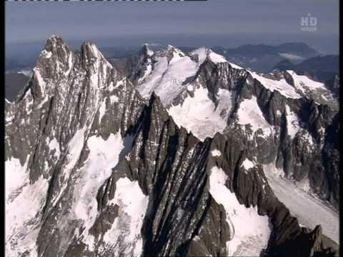 Swiss View.Flug über die Schweizer Alpen
