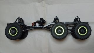 Axial SCX10 Dingo 6x6 project 1 Chassis