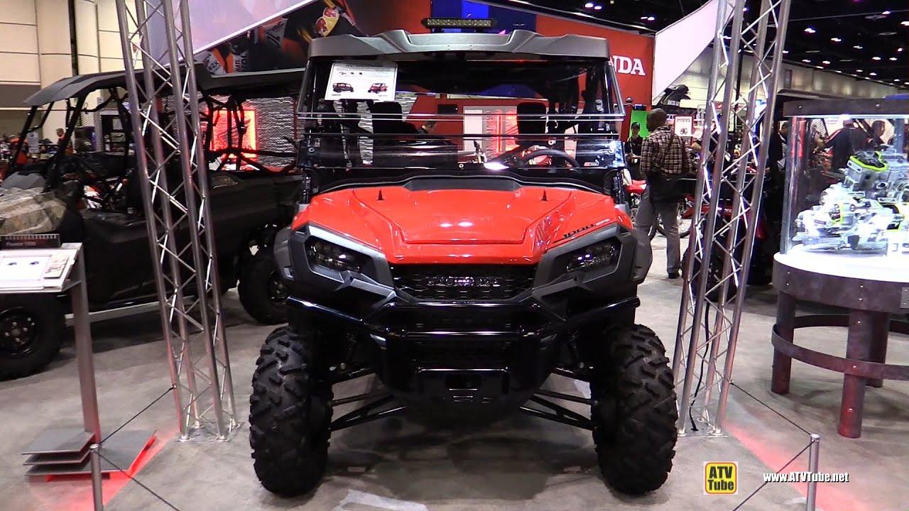 2016 Honda Pioneer 1000-5 Utility ATV - Walkaround - Debut at 2015 ...