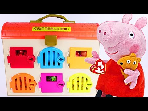 PEPPA PIG Best Learning Videos for COLORS - Critter Clinic PAW PATROL Learning Colors