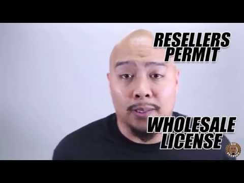 How to Start a Clothing Brand - Getting a Wholesale License