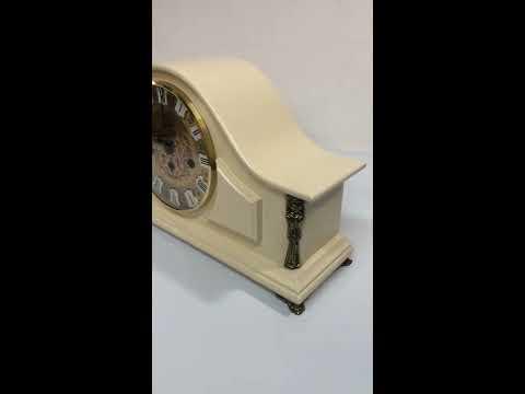 Механические каминные часы SARS 0093-340 Ivory