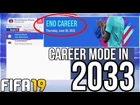 FIFA 19 CAREER MODE 2033 - WHAT HAPPENS AT THE END OF CAREER MODE??? (Best Regens And Players)
