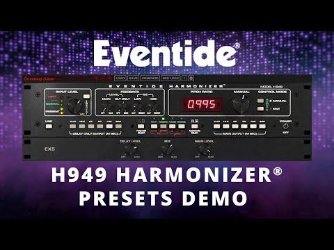 Eventide H949 Harmonizer® Plug-in Presets Demo