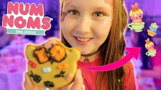 Num Noms Series 4 Party!! Surprise Cookie Decorating Nail Polish Face Painting -  Ruby Rube