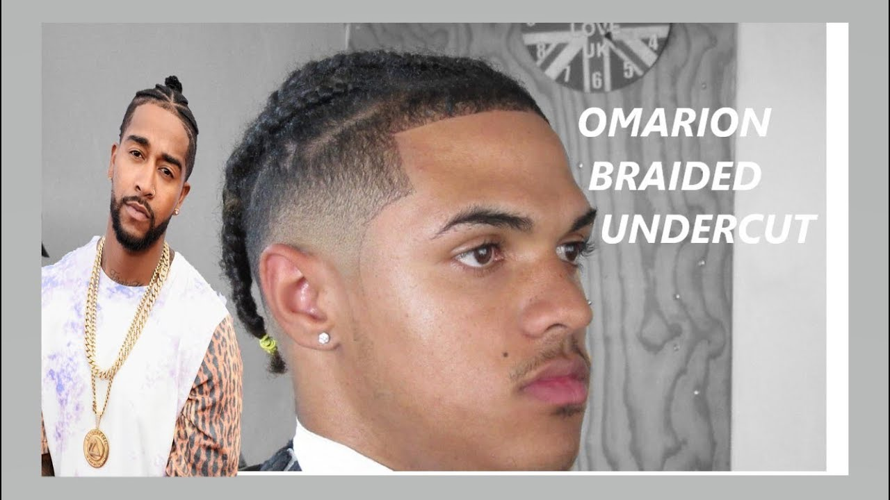 OMARION  BRAIDED UNDERCUT  FRESHEST CUT!!!  BY JNRUSS11  SOUTH AFRICAN  BARBER  HD!