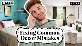 Fixing Common Decor Mistakes YOU SENT ME! ✨ What Would Drew Do #3