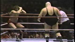 King Kong Bundy & Paul Orndorff vs. Don Muraco & Bob Orton w/ Mr. Fuji - March 15, 1987
