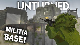 FINDING THE MILITIA BASE! (Unturned Survival Roleplay)