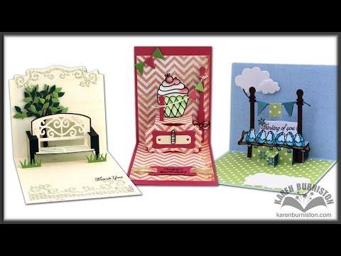 *NEW* Karen Burniston Pop it Ups pop-up dies for Elizabeth Craft Designs
