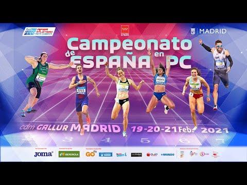 LVII Campeonato de España Absoluto en Pista Cubierta - Madrid (SÁBADO) MULTIPANTALLA