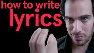 Baixar How To Write Lyrics