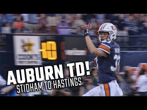Auburn's Jarrett Stidham Hits Will Hastings For A 47-yard Touchdown