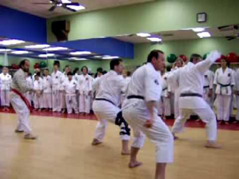 Kata Fukyugata Sandan, Ueshiro Shorin-Ryu Karate