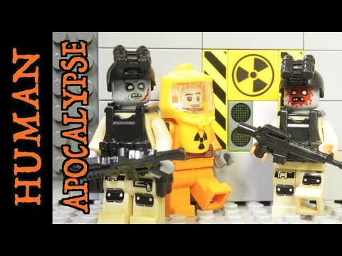 LEGO ZOMBIE HALLOWEEN APOCALYPSE (HUMAN APOCALYPSE STOP MOTION)