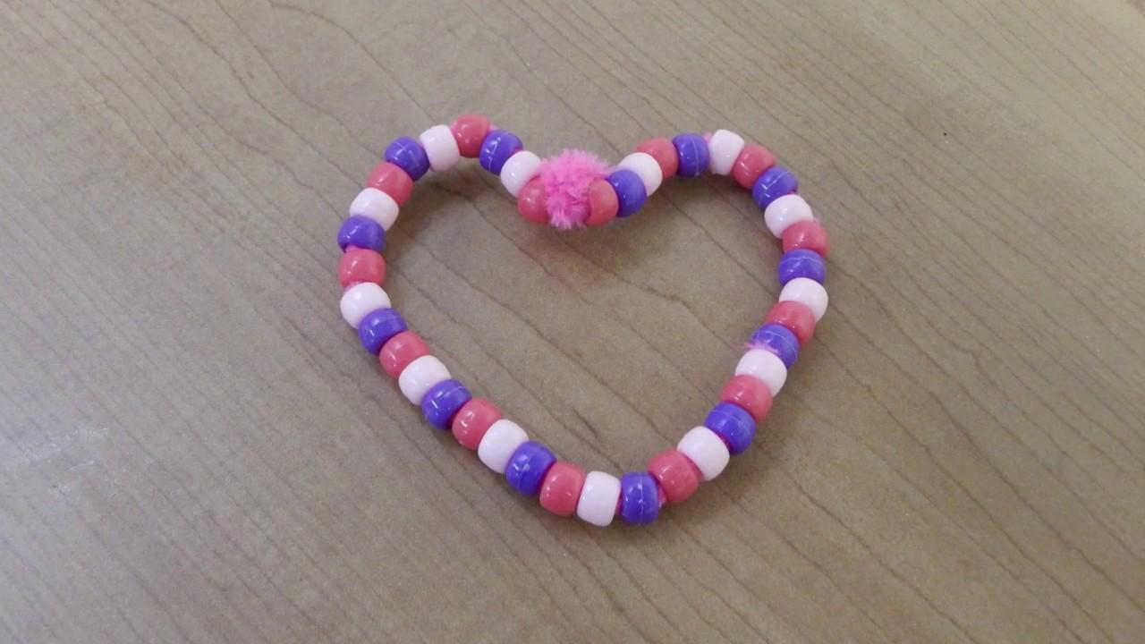 Beaded Valentine Hearts Activities For Dementia Patients Youtube