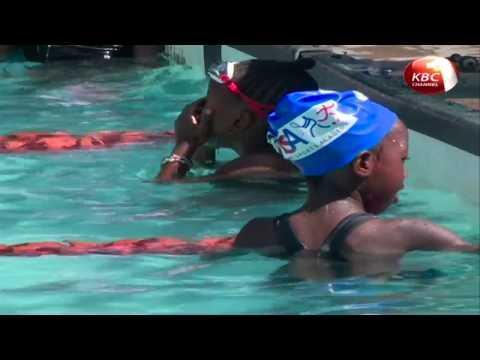 Nairobi swimming minnows gala  held at Makini school