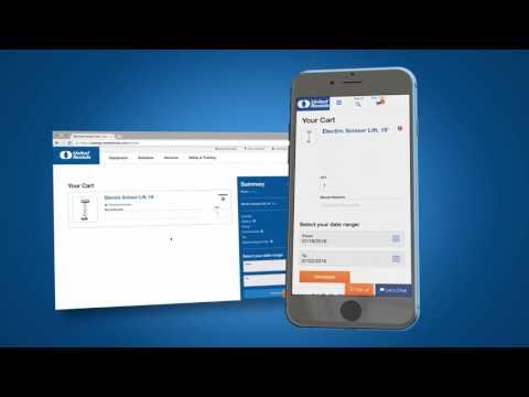 United Rentals Online Rental System