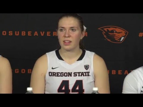 Oregon State WBB Postgame Press Conference vs UCLA 2/21/2016