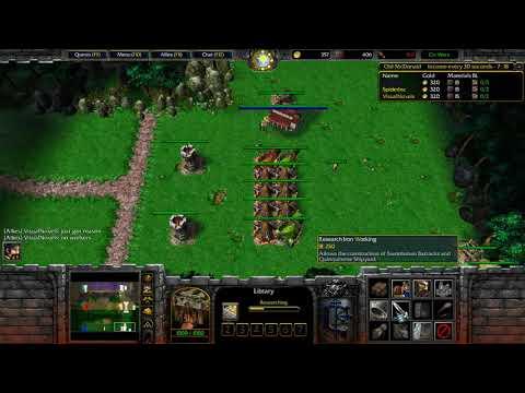 WarCraft 3   Civilization Wars #1
