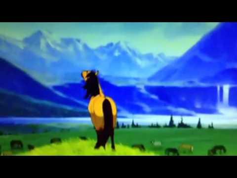 Opening To Spirit Stallion of The Cimaron 2002 UK DVD