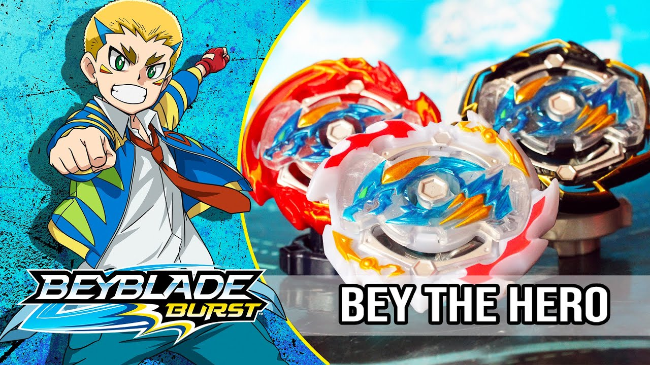 "BEYBLADE BURST ""Bey the Hero"" Episodio 4: ¡Dante y Dragon Ascienden!"