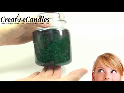 Creative Candles | Village Candle | Large Jar | Christmas Tree