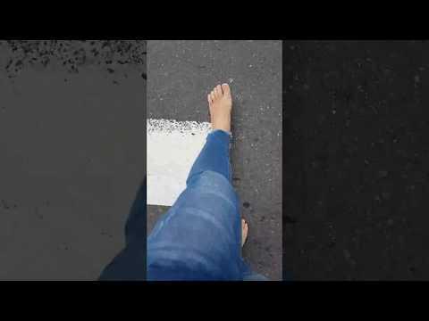 [赤腳車小斌] 赤腳去上班 Going barefoot to work
