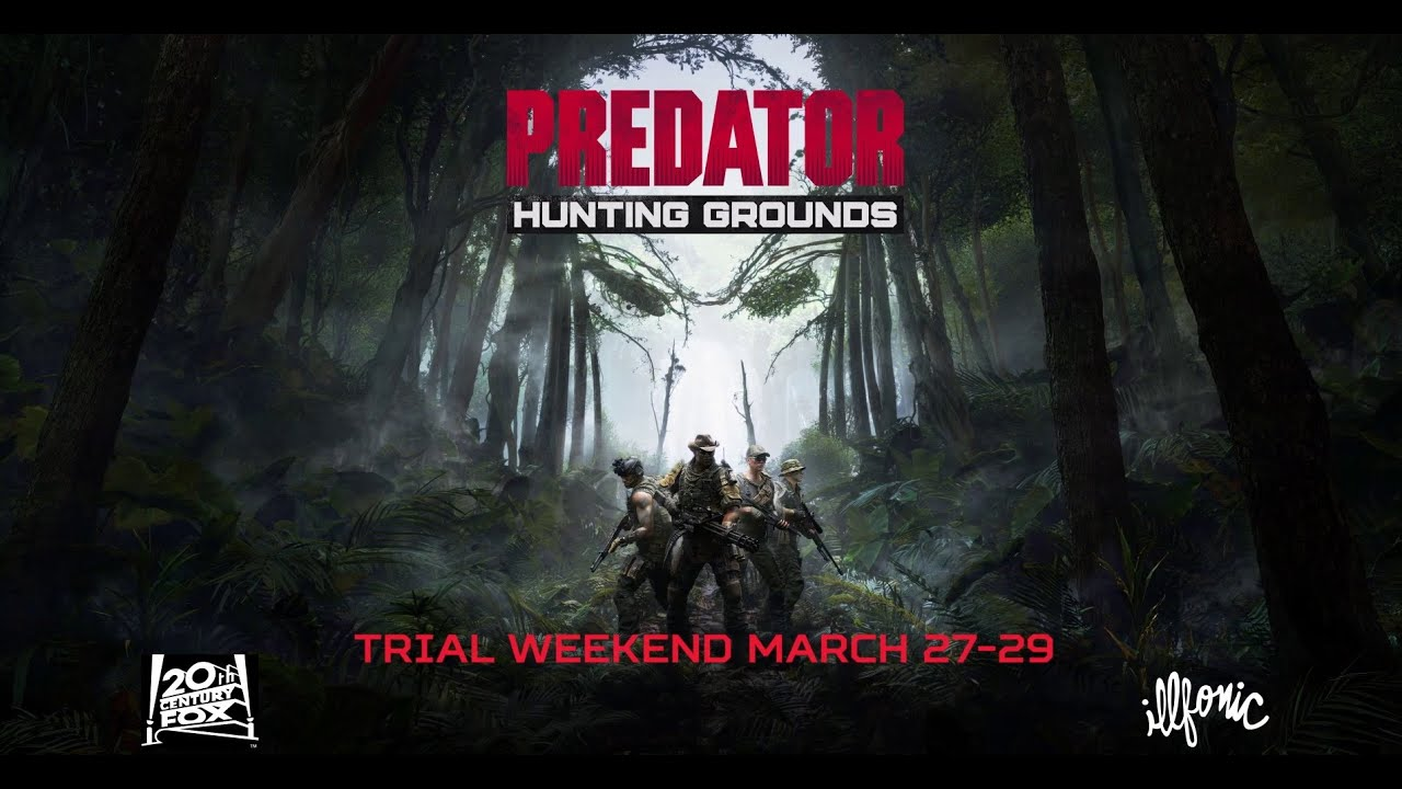 Predator: Hunting Grounds 트레일러