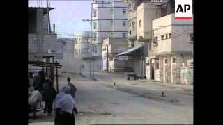 MIDDLE EAST: GUN BATTLE IN GAZA