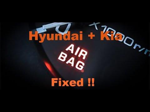 0610 HyundaiKia airbag light problem fix  YouTube