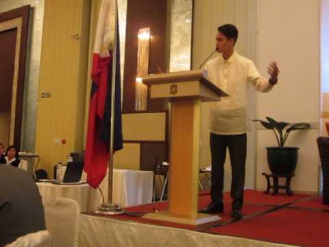 Bangko Sentral ng Pilipinas National Oratorical Champion-Brian Stefan Mack,