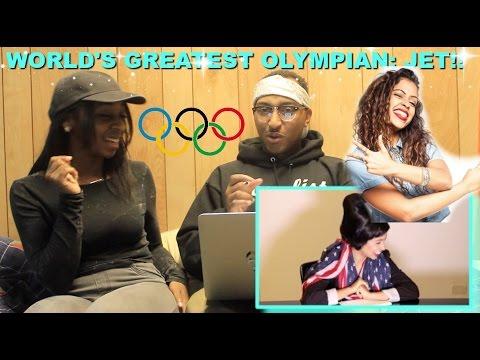 "Couple Reacts : ""JET: THE WORLD'S GREATEST OLYMPIAN"" By Liza Koshy Reaction!!!"