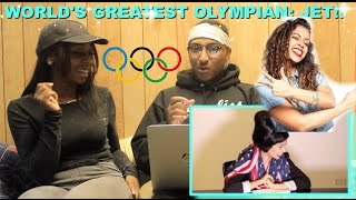 "Couple Reacts : ""JET: THE WORLD'S GREATEST OLYMPIAN"" By Liza Koshy Reaction!!!"