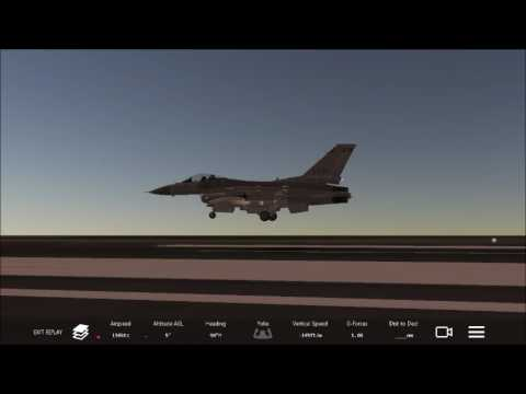F-16 Landing at St. Maarten   Infinite Flight