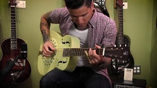 R.J. Ronquillo Performs At Artisan Guitars In Franklin, TN
